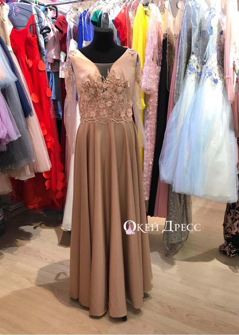 Маргарет флер❥ OkDress ❥ Прокат персиковых платьев в Краснодаре