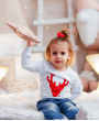 Детский свитер белый 2