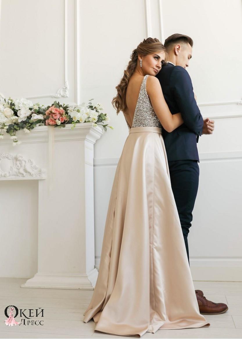 Рокси Беж❥ OkDress ❥ Прокат платьев в Краснодаре