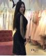Фиби Черное❥ OkDress ❥ Прокат платьев в Краснодаре