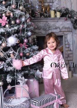 Пижама Розовая Детская