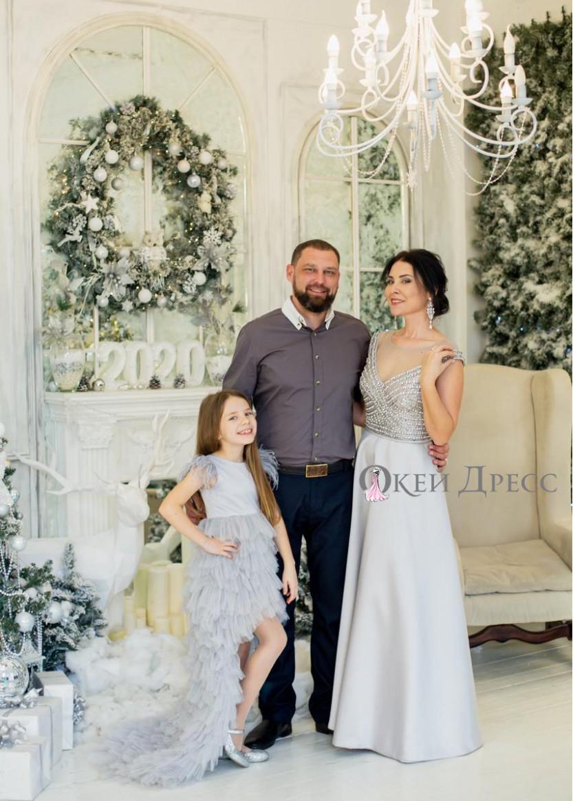 Скарлетт Серебро| Прокат платьев в Краснодаре | OkDress