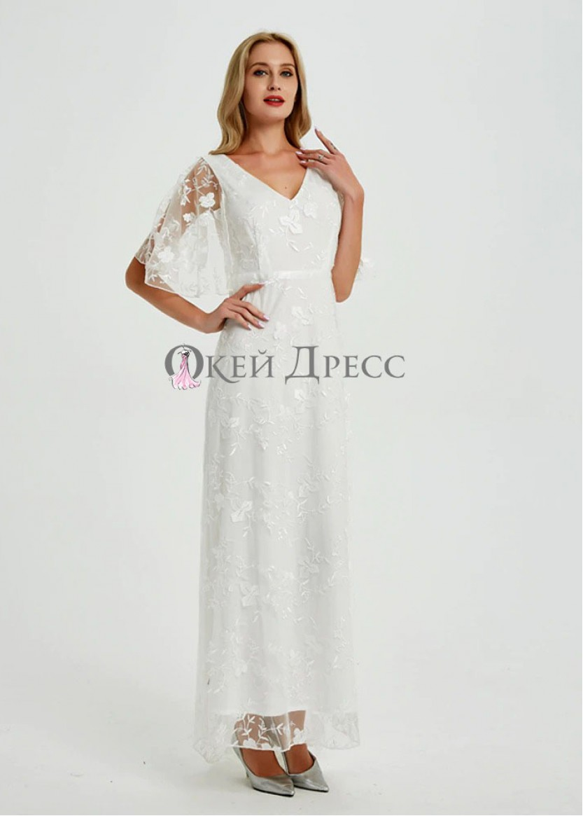 Юна Белая❥ OkDress ❥ Прокат платьев в Краснодаре