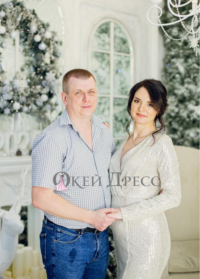 Дженифер Серебро  Прокат платьев в Краснодаре   OkDress