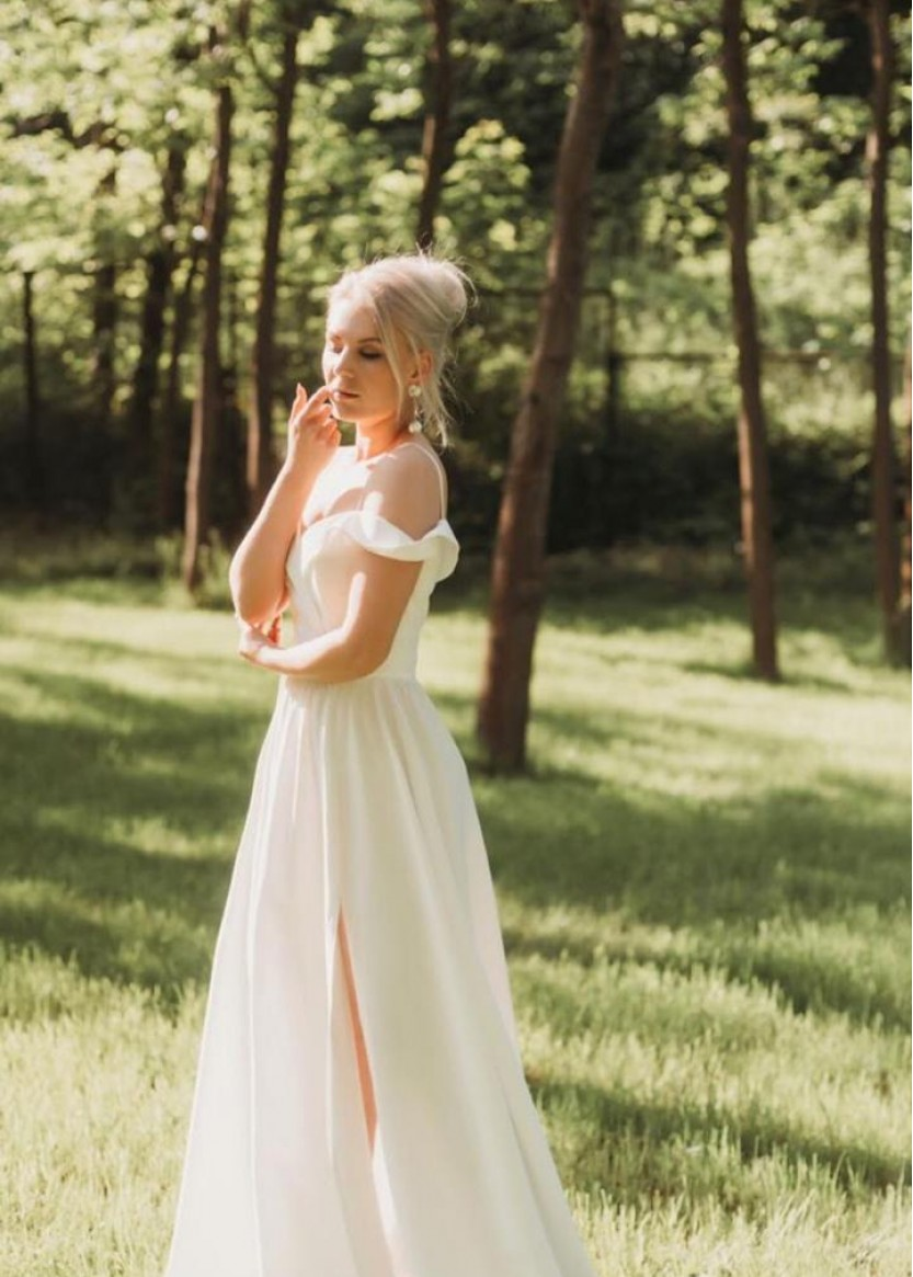 Сальма Белая ❥ OkDress ❥ Прокат платьев в Краснодаре