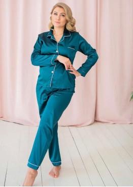Пижама Зеленая Женская
