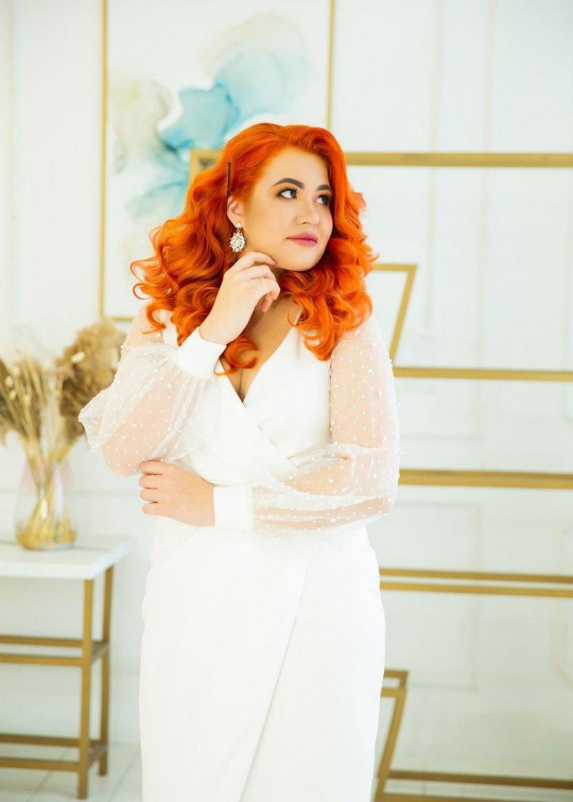 Коллин Белое | Прокат платьев в Краснодаре | OkDress