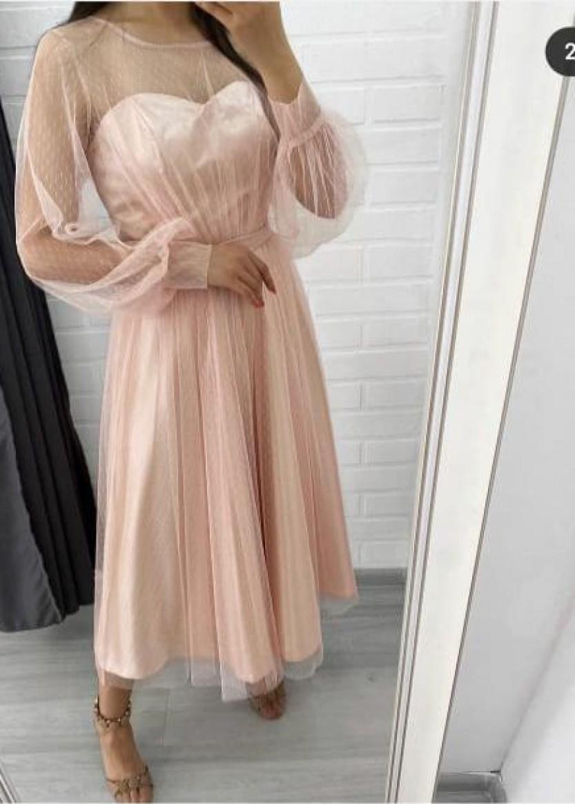 Молли Роз Пудра ❥ OkDress ❥ Прокат платьев в Краснодаре